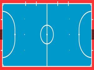 Kích thước sân bóng đá futsal theo tiêu chuẩn thi đấu