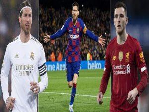 Đội hình xuất sắc nhất Châu Âu năm nay: có Messi, nhưng không Cr7