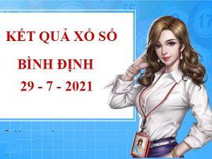 Soi cầu số đẹp xổ số Bình Định thứ 5 ngày 29/7/2021