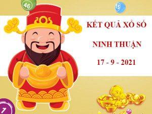 Soi cầu kết quả SX Ninh Thuận thứ 6 ngày 17/9/2021