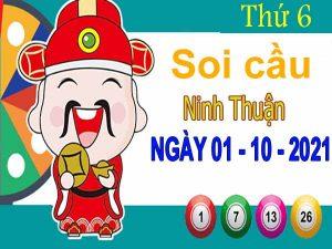 Soi cầu XSNT ngày 1/10/2021 đài Ninh Thuận thứ 6 hôm nay chính xác nhất